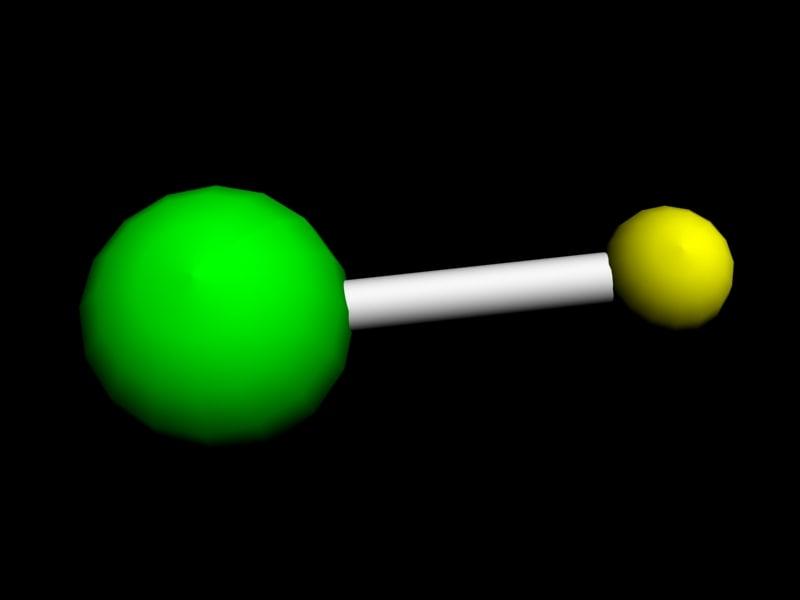 maya hydrogen chloride