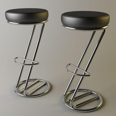 3ds italian bar stool