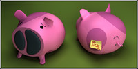 piggy loudspeakers pig 3ds