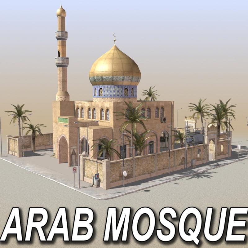 arab mosque environments max