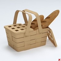 3ds bread basket