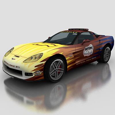 3dsmax car pace