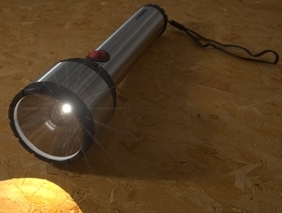 garrity flashlight 3d max