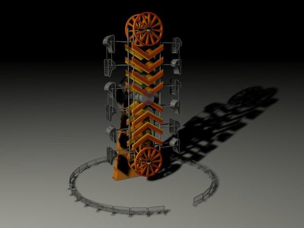 3d zipper model