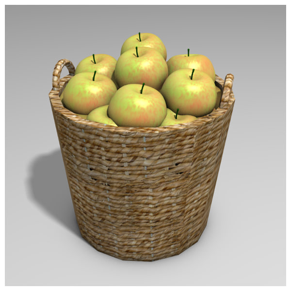 blend basket apples