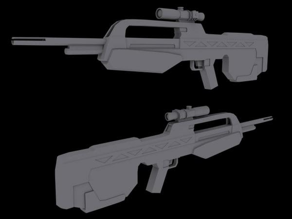 3d model halo 3 battle
