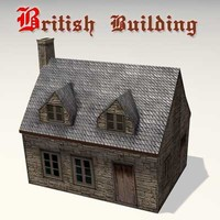 Old British Building 03