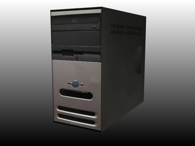 computer workstation desktop 3d 3ds