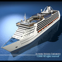 cruise ship 3d 3ds