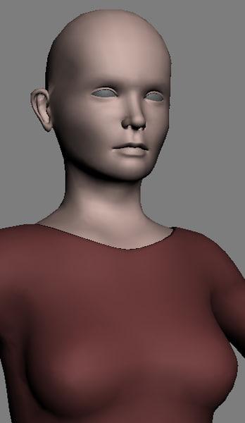 generic female character max