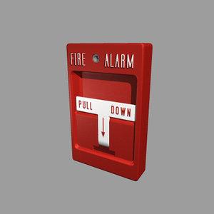alarm box 3d max