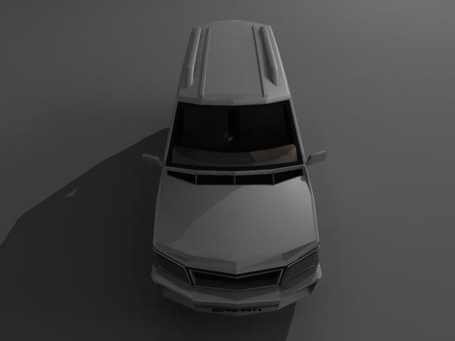 3d model car suv