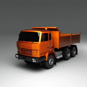 truck dump w640 3d lwo
