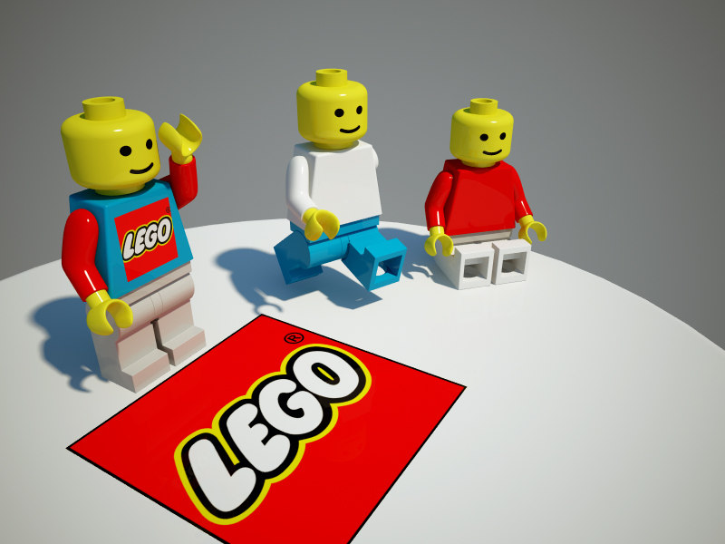 cinema4d lego color