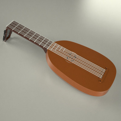 3ds max lute