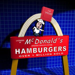 maya mcdonalds sign retro 01