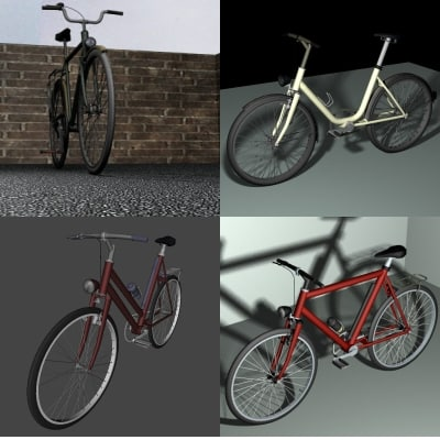 3ds max bicycle pack