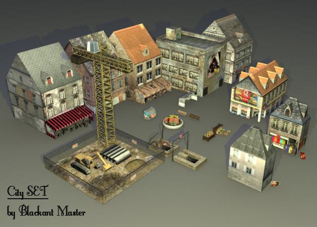 3d model pack shops