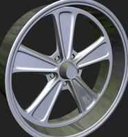wheels rim 3d obj