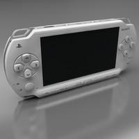 3d sony psp model