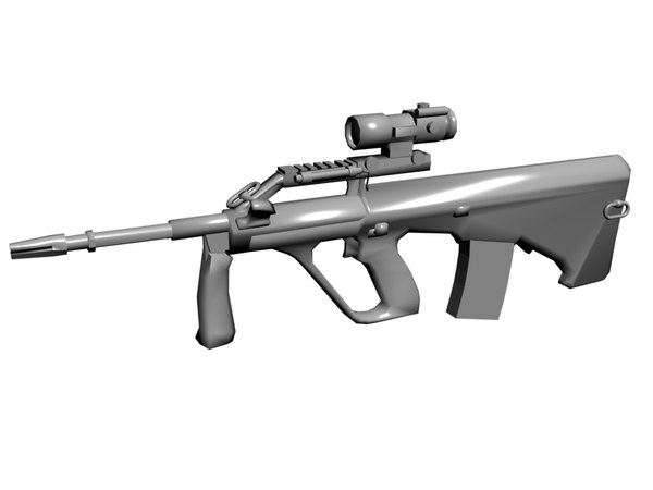 3ds steyr aug rifle