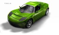 3d tesla car model