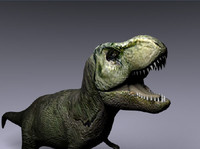 free 3ds model tyrannosaurus