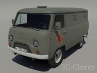 military van 3ds