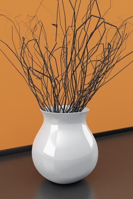vase deco 3d model