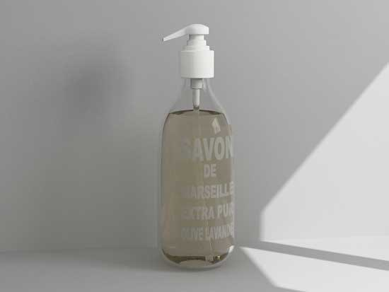 3d soap dispenser model