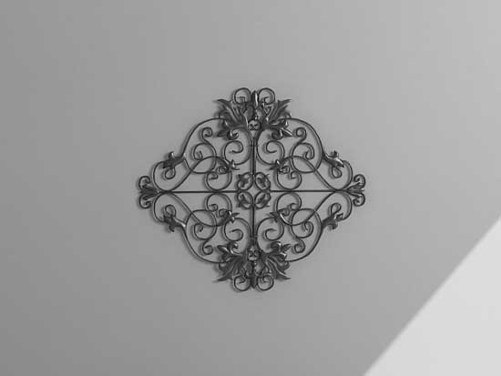 wall decor 3d model
