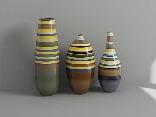 3d vases model