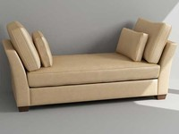 3d max daybed
