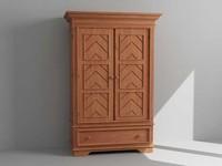 cabinet dresser 3d max