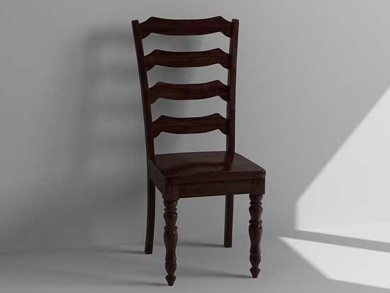 dining chair 3d x