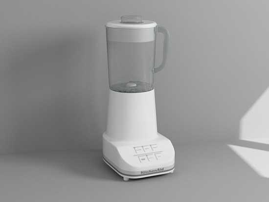 blender mixer 3d max