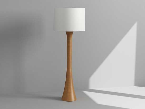 bedside lamp 3d model