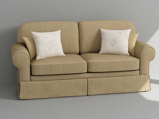 3ds max loveseat