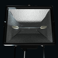 3d zenith spotlight lights model