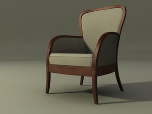 max art deco armchair