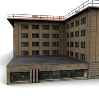 3d house dds model