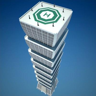 skyscraper 8 vol 2 3d 3ds