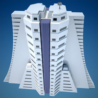 skyscraper 8 vol 2 3d model