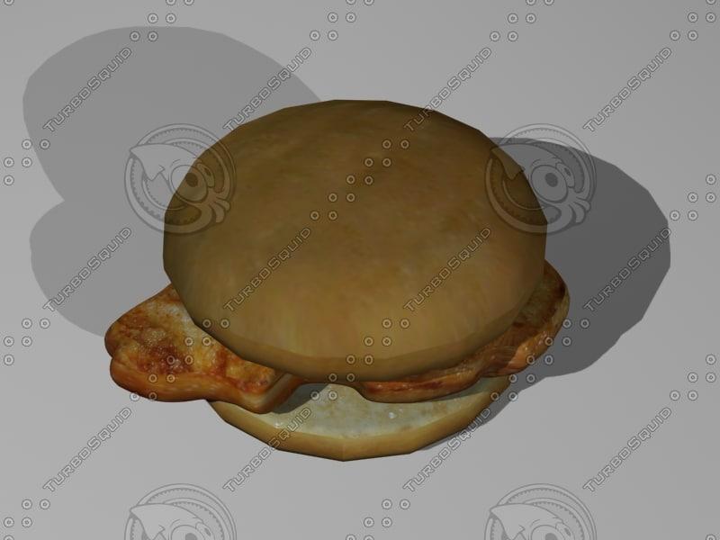 3ds mx en sndwich fried