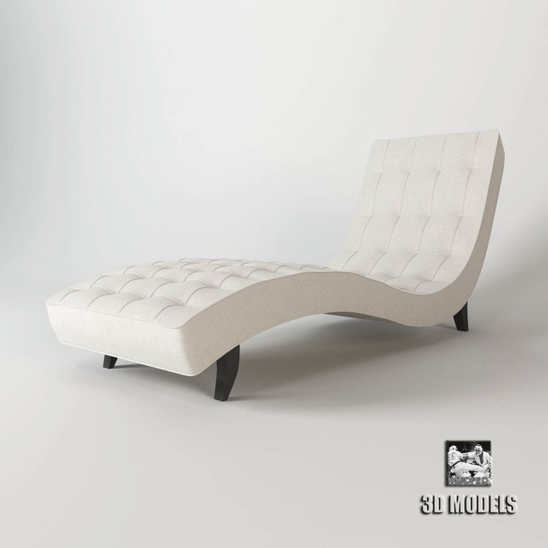 3d model roche bobois for Chaise game free download