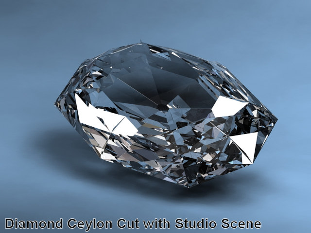 3d diamonds unusual shapes 9