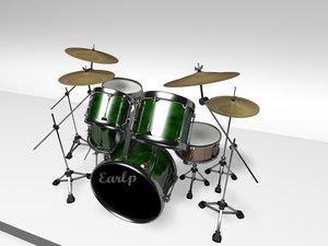 drumkit 3d x