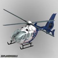 3dsmax eurocopter ec-135 life net