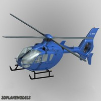 eurocopter ec-135 private livery 3d model