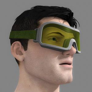 3ds max ski goggles nbc cbn